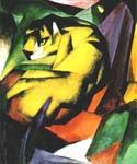 Tiger by  Franz Marc (Painting ID: AF-0179-KA)