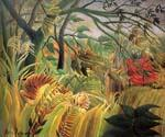 Tiger in a Tropical Storm by  Henri Rousseau (Painting ID: RO-0159-KA)