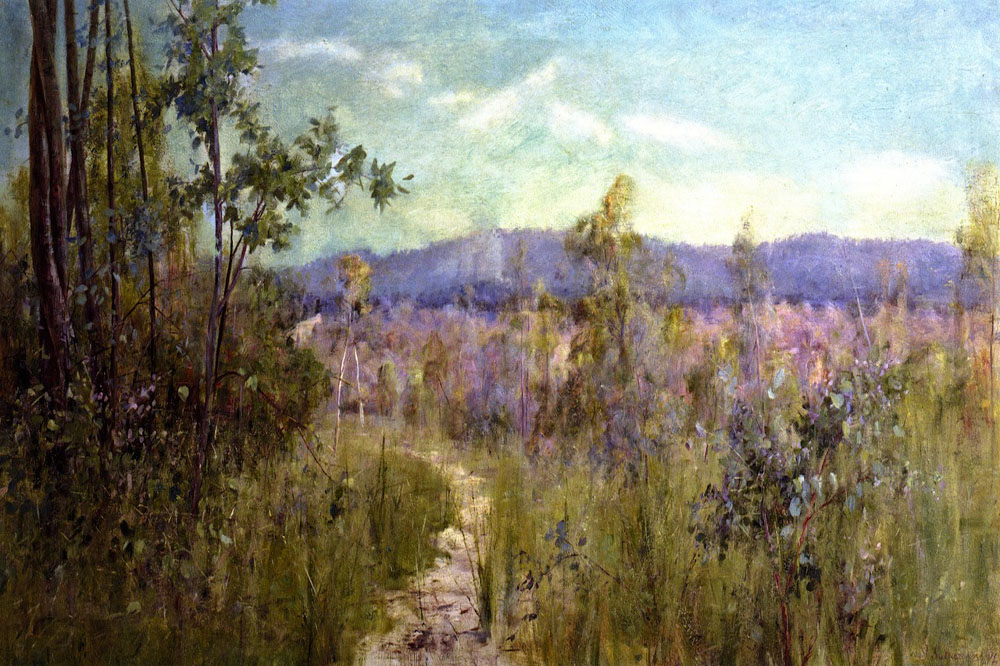 """To The Dandenong"" by  Jane Sutherland"