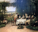Toast to the Heir Presumptive by  Adrien Moreau (Painting ID: ED-0191-KA)