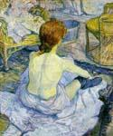 Toilette by  Henri Toulouse Lautrec (Painting ID: ED-1114-KA)