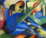 Traumendes Pferd by  Franz Marc (Painting ID: AF-0171-KA)
