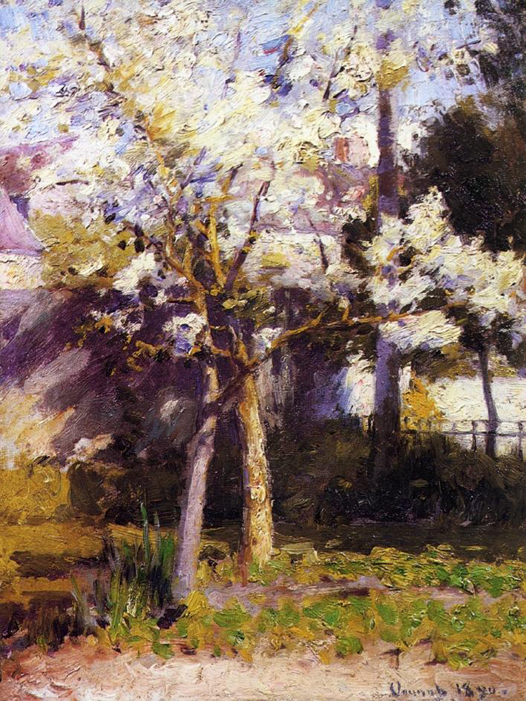 """Trees at Gertz"" by  Robert Vonnoh"