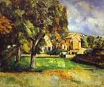 Trees in Park by  Paul Cezanne (Painting ID: MO-1485-KA)
