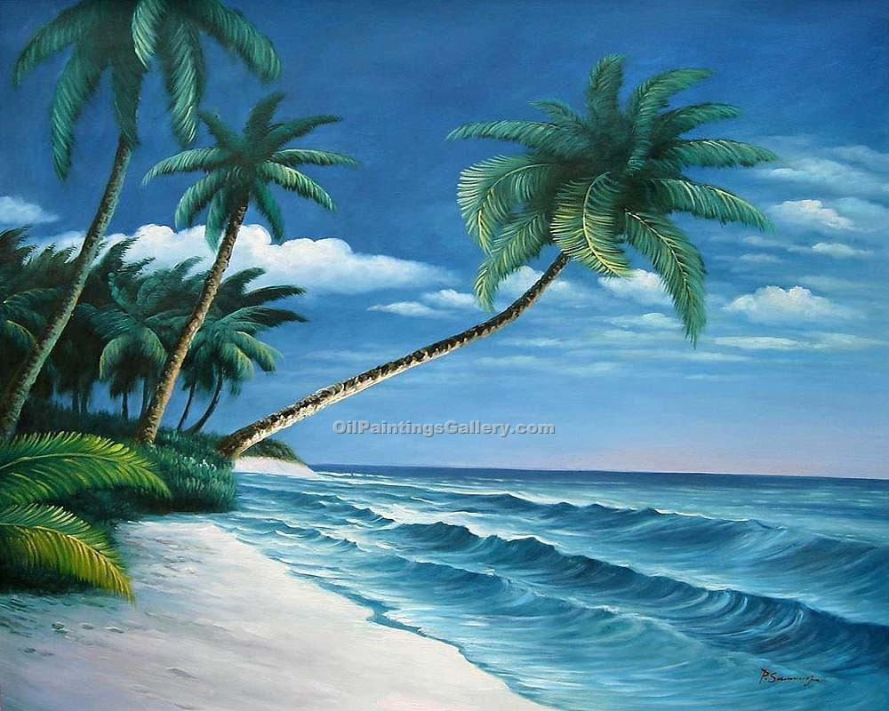 tropical scene 54 painting id la 6054 d