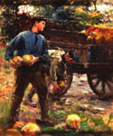 Turnip Gatherers by  Harold Harvey (Painting ID: ED-0877-KA)