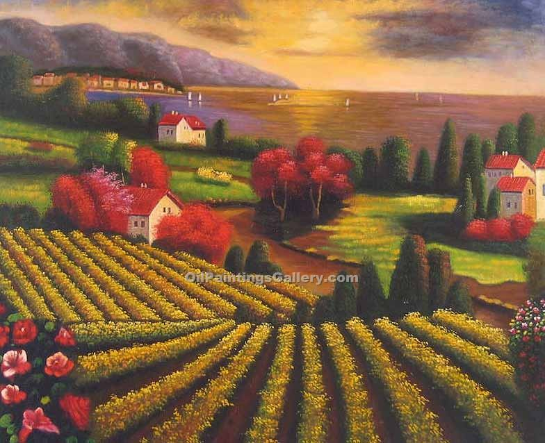 """Tuscan Vineyard 30"""