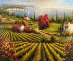 Tuscan Vineyard 31  (Painting ID: LA-5431-KA)