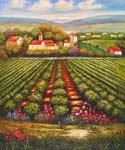 Tuscan Vineyard 32  (Painting ID: LA-5432-KA)