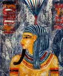 Tutankhamun Boy King of Egypt Oil Painting (ID: GE-2352-A)