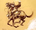 Ugly by  Frederic Remington (Painting ID: AN-2171-KA)