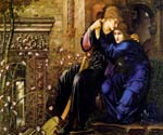 Untitled 28 by  Edward Burne Jones (Painting ID: CL-7028-KA)