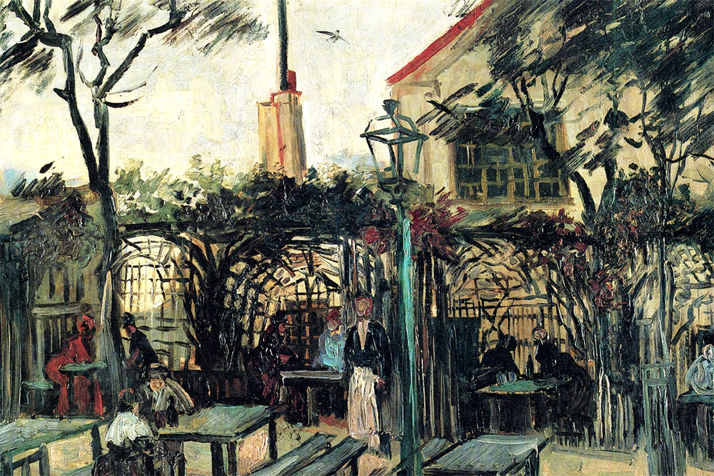 """Terrace of the Cafe La Guinguuette"" by  Vincent Van Gogh"