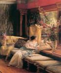 Vain Courtship by  Sir Lawrence Alma Tadema (Painting ID: EI-1277-KA)