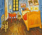 Van Gogh Bedroom by  Vincent Van Gogh (Painting ID: VG-0350-KA)