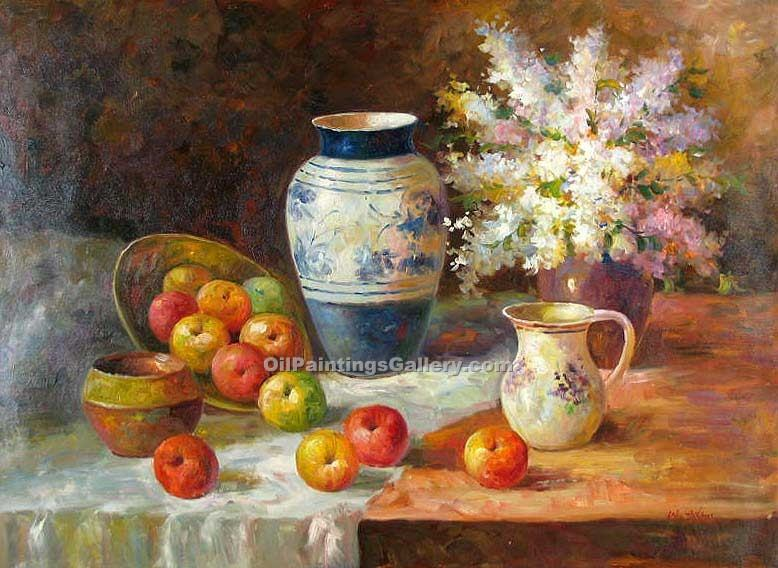 """Vase and Apples 88"""