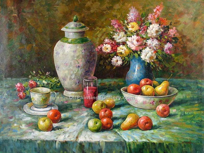"""Vase and Apples 89"""