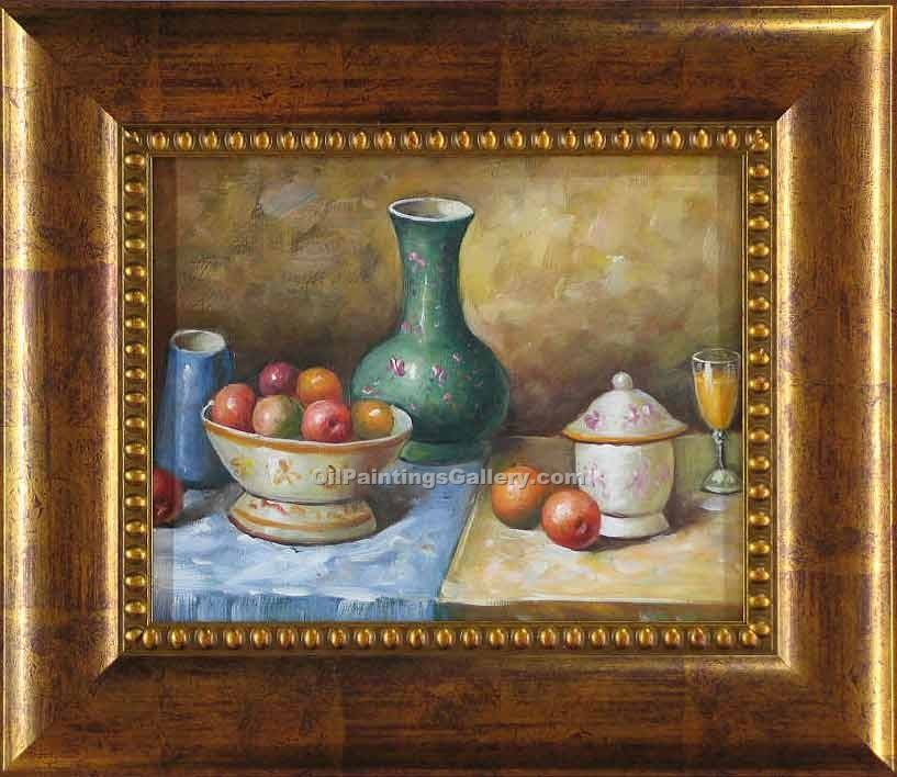 """Vase and Apples"""
