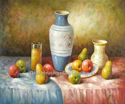 """Vase and Apples 86"""