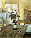 Vase of Flowers 05 by  Edouard Vuillard (Painting ID: SL-0405-KA)
