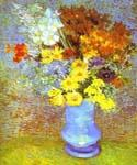 Vase with Daisies and Anemones by  Vincent Van Gogh (Painting ID: VG-0418-KA)