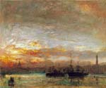 Venice 38 by  Albert Goodwin (Painting ID: LA-1938-KA)