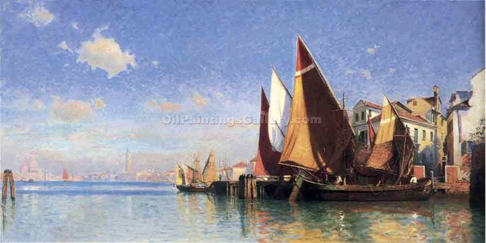 """Venice 47"" by  William Stanley Haseltine"