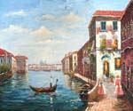 Venice Grand Canal View 07  (Painting ID: CI-1507-KA)