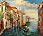 Venice Grand Canal View 11  (Painting ID: CI-1511-KA)