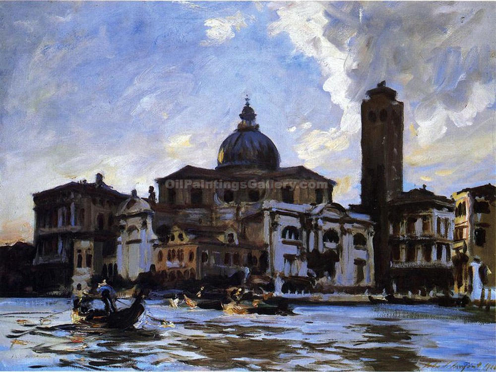 """Venice Palazzo Labia"" by  John Singer Sargent"