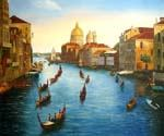 Venice Regatta on Grand Canal 06  (Painting ID: CI-1506-KA)