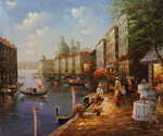 Venice in Spring  (Painting ID: CI-0020-KA)