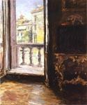 Venician Balcony by  William Merritt Chase (Painting ID: CI-1646-KA)