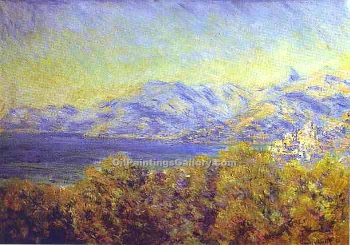 """Ventimiglia"" by  Claude Monet"