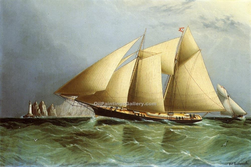"""Vesta off the Needles"" by  James E Buttersworth"