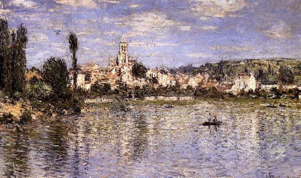 """Vetheuil In Summer"" by  Claude Monet"