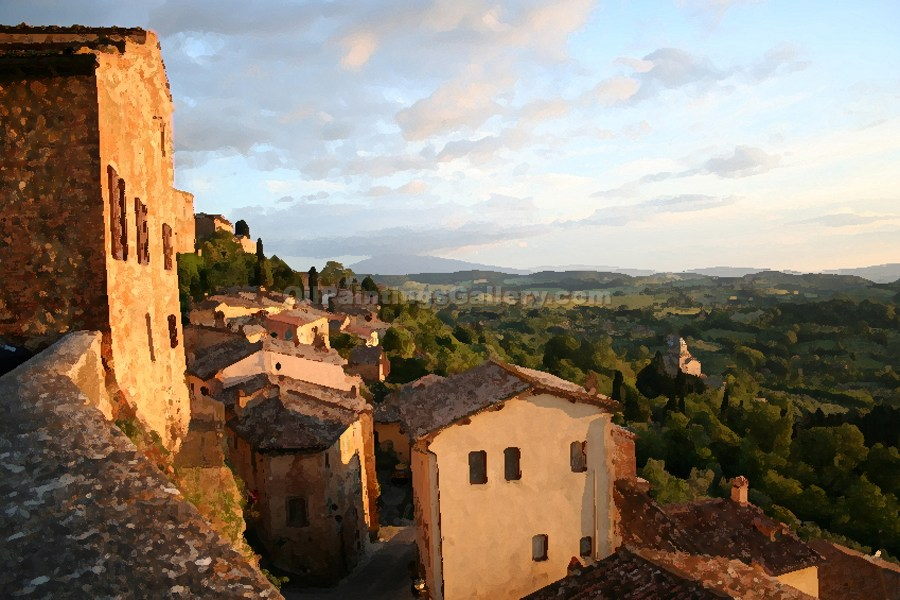 """View from Tuscan Village"""