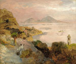 View of Capri by  Oswald Achenbach (Painting ID: LA-2266-KA)