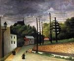 View of Malakoff Paris Region by  Henri Rousseau (Painting ID: RO-0126-KA)