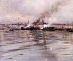 View of Venice 33 by  Giovanni Boldini (Painting ID: LA-1733-KA)