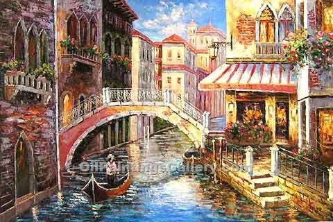 """View of Venice Canal"""