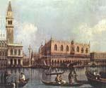 View of the Bacino di San Marco by  Antonio Canaletto (Painting ID: CI-2011-KA)
