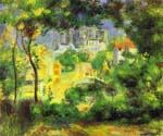 View of the New Building of the Sacre-Cour, Paris by  Pierre Auguste Renoir (Painting ID: CL-4601-KA)