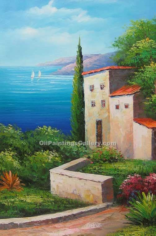 Buy Oil Painting Landscapes Online | Realism & Naturalism styles - View to the Bay 04