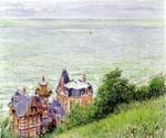 Villas a Trouville by  Gustave Caillebotte (Painting ID: LA-1169-KA)