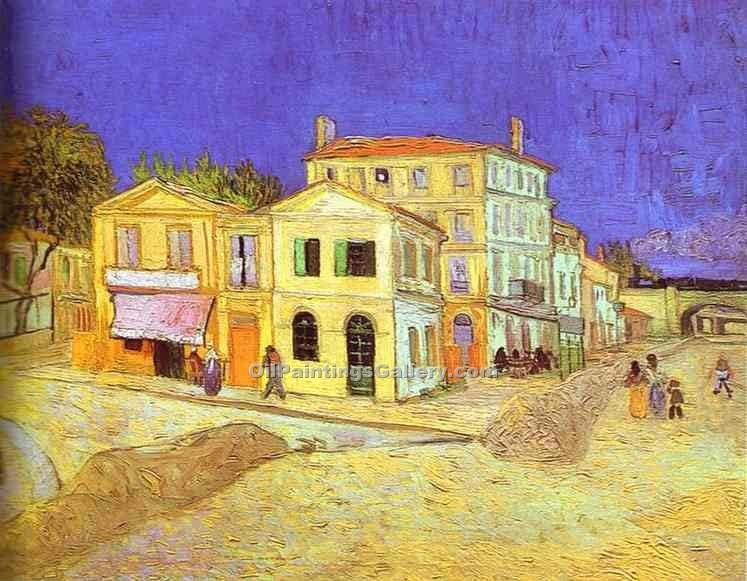 """Vincent House in Arles"" by  Vincent Van Gogh"