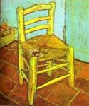 Vincent s Chair with Pipe by  Vincent Van Gogh (Painting ID: VG-0360-KA)