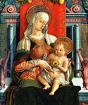 Virgin Mary and Child by  Carlo Crivelli (Painting ID: DA-0307-KA)