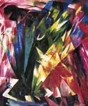 Vogel by  Franz Marc (Painting ID: AB-0181-KA)