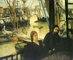 Wapping on Thames by  James McNeill  Whistler (Painting ID: CM-1175-KA)